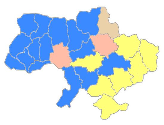 election-oblast-map-1999-first-round